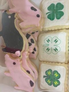 Thank you livestock cookies